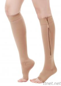 Zipper Slimming Socks