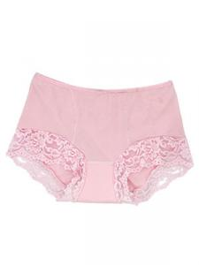 PINK lace boyshorts panties for Urinary incontinence in elderly female